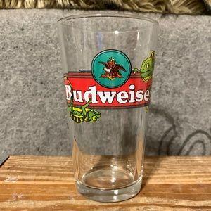 Vintage Budweiser Glass Beer Cup